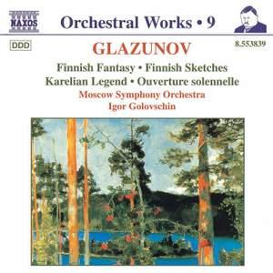 Glazunov - Orchestral Works Volume 9
