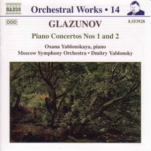 Glazunov - Orchestral Works Volume 14