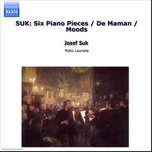 Josef Suk: Piano Pieces