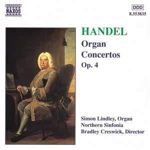 Handel - Organ Concertos Op. 4
