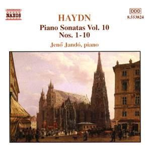 Haydn - Piano Sonatas Volume 10