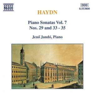 Haydn - Piano Sonatas Volume 7