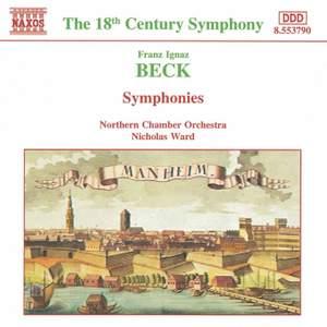 Franz Ignaz Beck: Symphonies