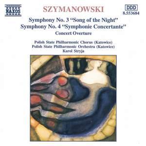 Szymanowski - Symphony Nos. 3 & 4