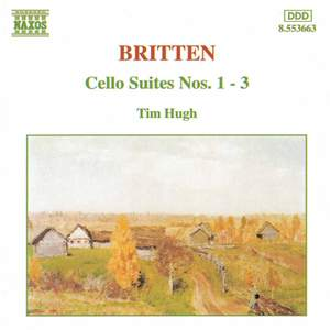 Britten: Suites for cello solo, Nos. 1-3 Product Image