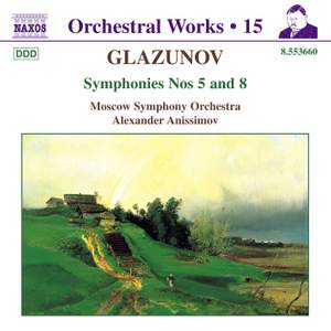 Glazunov - Orchestral Works Volume 15 Product Image