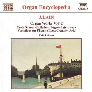 Alain: Organ Works, Vol. 2 Product Image