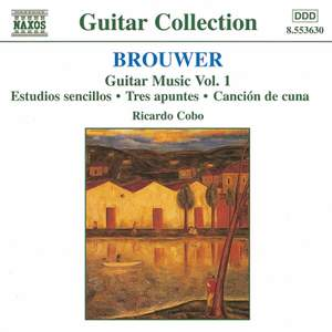 Brouwer - Guitar Music Volume 1