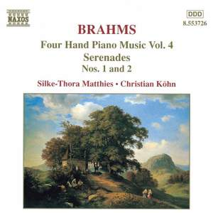 Brahms: Four-Hand Piano Music, Volume 4