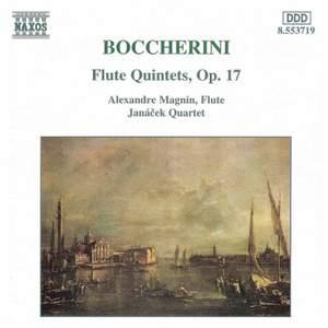 Boccherini - Flute Quintets, Op. 17
