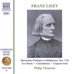 Liszt: Complete Piano Music Volume 4
