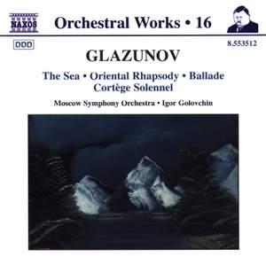 Glazunov - Orchestral Works Volume 16