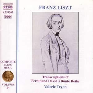Liszt: Complete Piano Music Volume 14