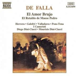 Falla: El Amor Bruja & El retablo de Maese Pedro Product Image