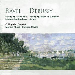 Ravel: String Quartet in F major, etc.