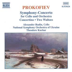 Prokofiev: Sinfonia Concertante in E minor for cello & orchestra, Op. 125, etc. Product Image