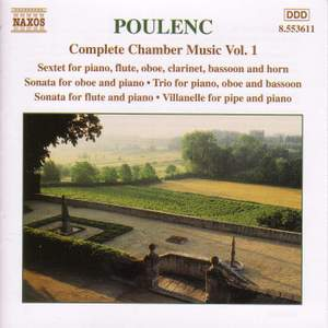 Poulenc: Complete Chamber Music, Vol. 1