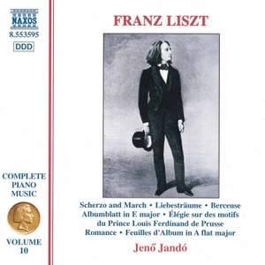 Liszt: Complete Piano Music Volume 10