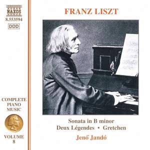 Liszt: Complete Piano Music Volume 8