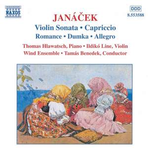 Janacek: Violin Sonata, Capriccio & works for violin and piano