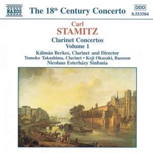 Carl Stamitz: Clarinet Concertos, Vol. 1