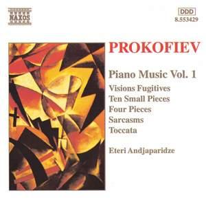 Prokofiev: Piano Music Vol. 1