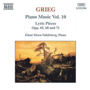 Grieg: Piano Music. Vol. 10