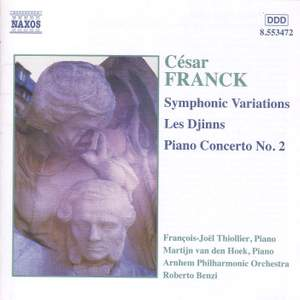 Franck, C: Symphonic Variations for piano & orchestra, M46, etc.