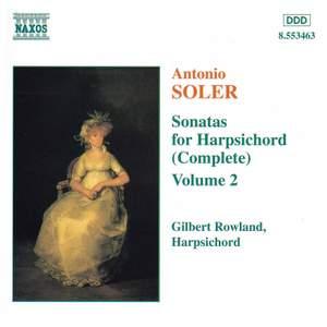 Soler - Sonatas for Harpsichord Volume 2