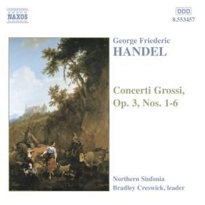 Handel: Concerti grossi Op. 3 Nos. 1-6, HWV312-317 Product Image