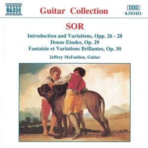 Sor: Introduction & Variations on several themes, Dance etudes & other solo guitar works