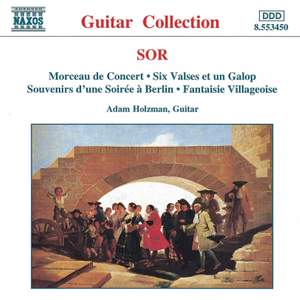 Sor: Morceau de Concert, Six Valses et un Galop & other guitar works