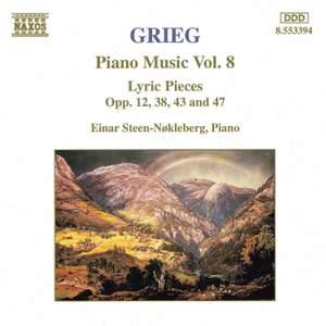 Grieg: Piano Music. Vol. 8