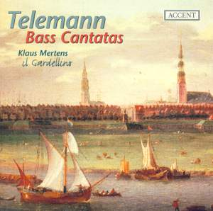 Telemann - Cantatas for Bass Product Image