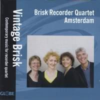Contemporary music for recorder quartet