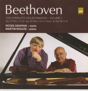 Beethoven: The Complete Violin Sonatas Volume 1