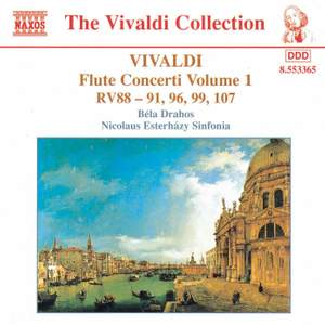 Vivaldi: Flute Concertos, Vol. 1 Product Image