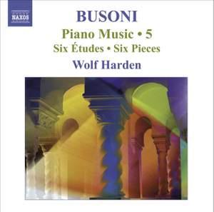 Busoni - Piano Music Volume 5