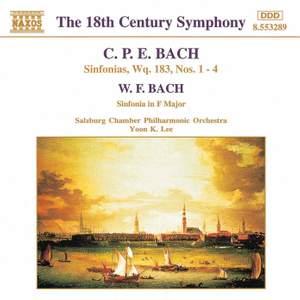CPE Bach: Sinfonias Wq. 183, Nos. 1-4