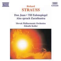 Strauss: Don Juan, Till Eulenspiegel & Also sprach Zarathustra