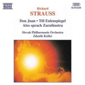 Strauss: Don Juan, Till Eulenspiegel & Also sprach Zarathustra Product Image