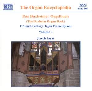 Das Buxheimer Orgelbuch, Vol. 1 Product Image