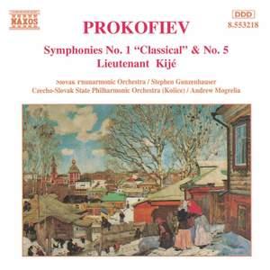 Prokofiev: Symphonies Nos. 1 & 5, Lieutenant Kijé Suite