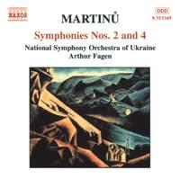 Martinu: Symphonies Nos 2 & 4