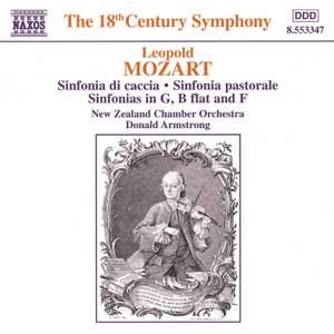 Leopold Mozart: Sinfonia da caccia, Sinfonia pastorale & other sinfonias