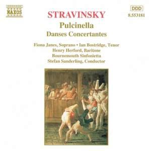 Stravinsky: Pulcinella & Danses Concertantes
