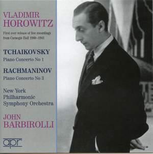 Tchaikovsky: Piano Concerto No. 1 & Rachmaninov: Piano Concerto No. 3