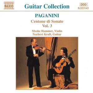 Paganini: Centone di Sonate, Vol. 3