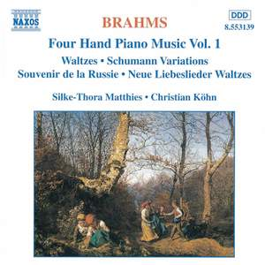 Brahms: Four-Hand Piano Music, Volume 1