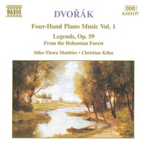 Dvorak: Four-Hand Piano Music, Vol. 1